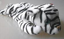 Ty Beanie Baby Blizzard white Tiger wild cat retired Hologramm unbespielt Neu