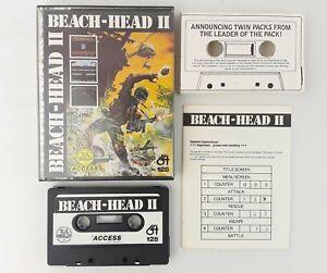 Analytique Beach-head Ii (2) C64 C128 Commodore 64-us Gold/access-envoi Rapide-afficher Le Titre D'origine 50% De RéDuction