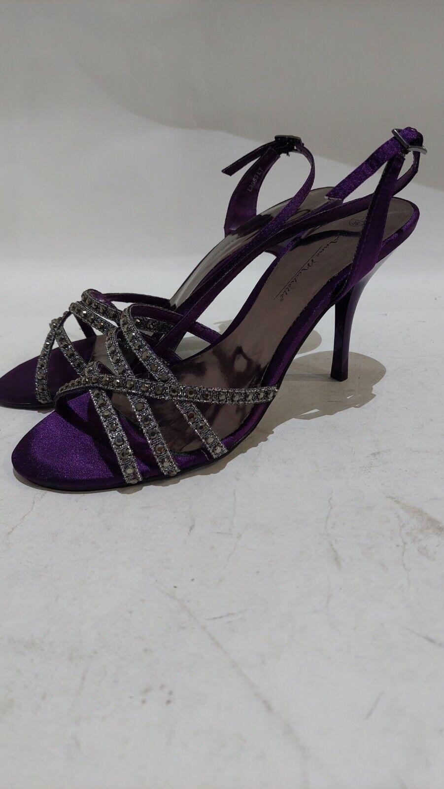 BNIB Purple Sparkly Shoes size 3 #544