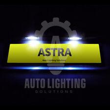 Astra H 2005 - 2010 VXR Xenon White LED Number / License Plate Lights Bulbs