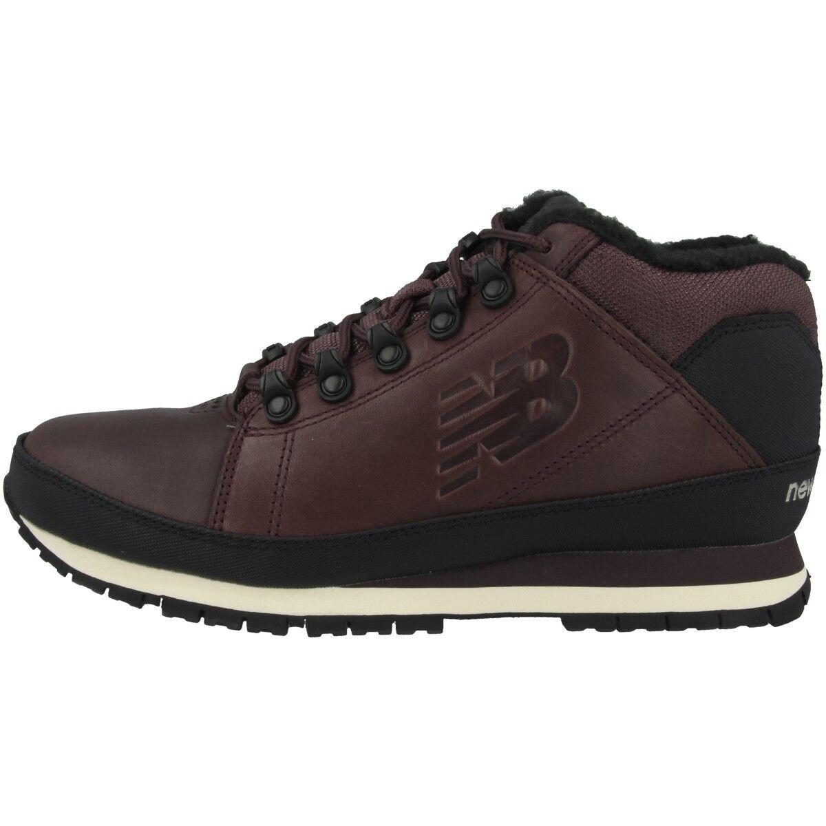 nouveau   Hl 754 Bb Chaussures Bottes Hommes Hiver Bordeaux Noir HL754BB