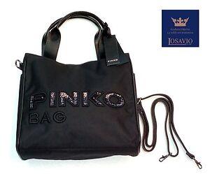 nera Borsa Pinko Idrostatica Ebay Nylon Ed Bag Ecopelle tx4qxf 6c3154cf598
