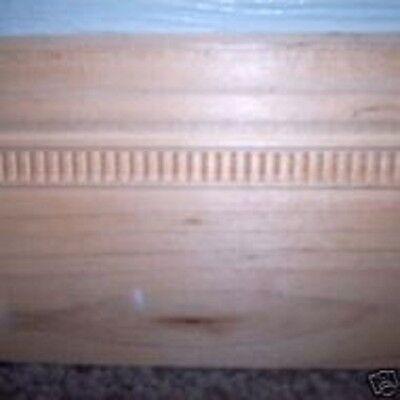 "Baseboard trim mould 25""L plaster cement casting mould"