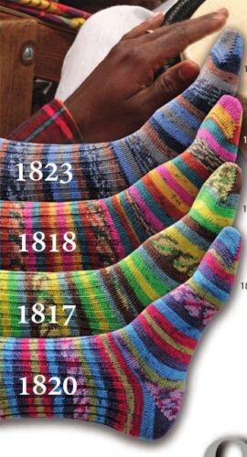 3 colorways ONline Supersocke 100 SAMBA