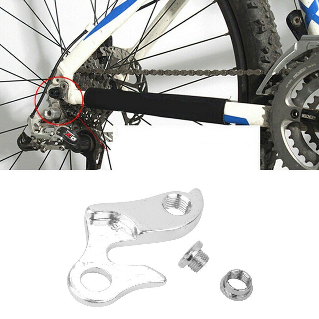 Metal Mountain Bicycle Bike Rear Gear Mech Derailleur Hanger Drop Out Adapter CP