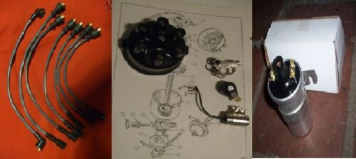 cap points bras rotor bobine allumage conduit set 66-70 Triumph Vitesse 2.0 delco