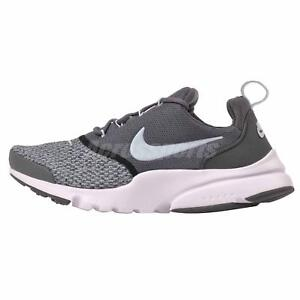 4f875cf5d75 Nike Presto Fly SE (GS) Kids Youth Womens Running Shoes Grey AA3061 ...
