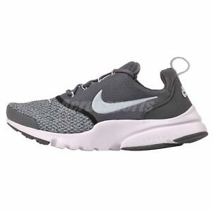 e37f039ec4e02 Nike Presto Fly SE (GS) Kids Youth Womens Running Shoes Grey AA3061 ...