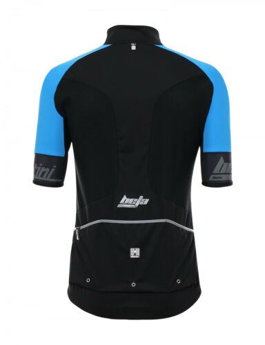 Made in Italy by Santini Beta Cycling Jersey in Blue
