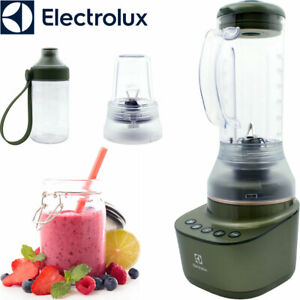 Electrolux Standmixer Mixer Ice Crusher Edelstahl Klingen Smoothie Maker 0,6 L.