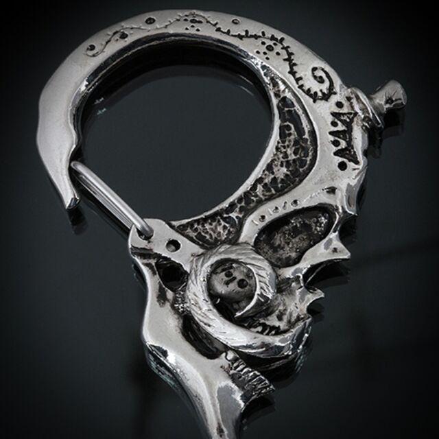 Guntwo Korean Mens Fashion Keychains - Skull Keychain Key rings chain K2060 US