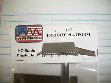 AM Models HO Scale Freight Platform Kit #107 Bob The Train Guy