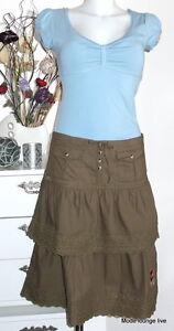 Cotton 36 Gonna Maria Oliv Make Grün Baumwolle Day Green Rock S Vive My f41yfg