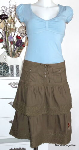 Vive Maria Skirt MAKE MY DAY Skirt S 36 green green olive cotton
