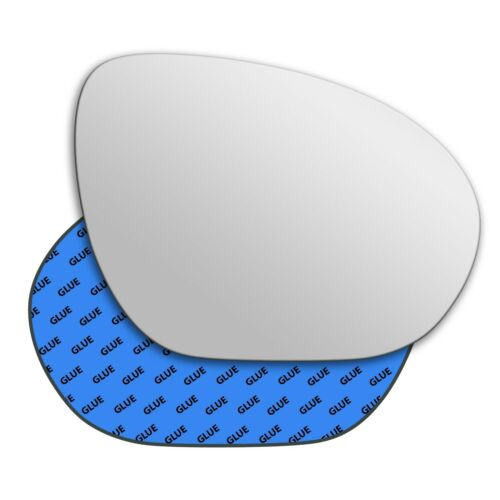 Right Hand Driver Side Mirror Glass for Nissan Juke 2010-2015 0410RS
