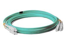 LWL Netzwerkkabel LC-LC OM4 LWL LC-LC 0050 50//125µ Duplex 0,5m Laser optimiert