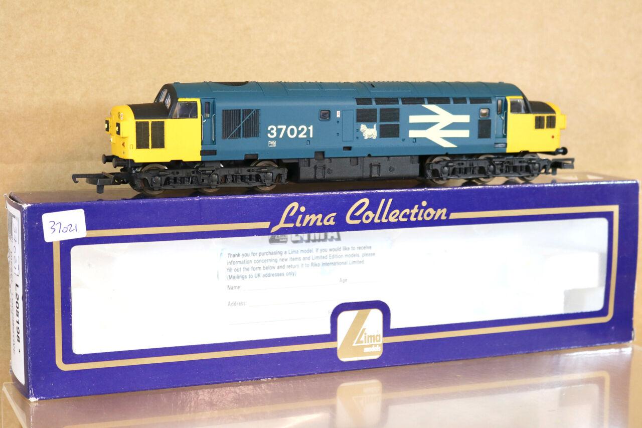 Lima 205198 Reacabados Br Scotrail Grande Logo Clase 37 Diesel Loco 37021 Nj