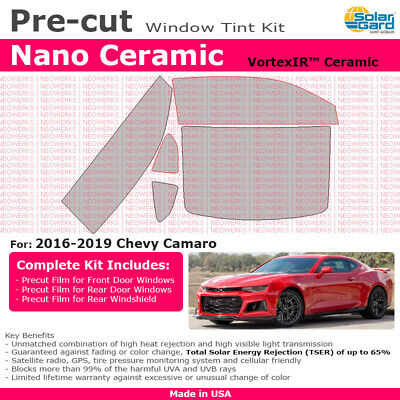 All Windows Precut Window Tint For Chevy Camaro 2016-2018