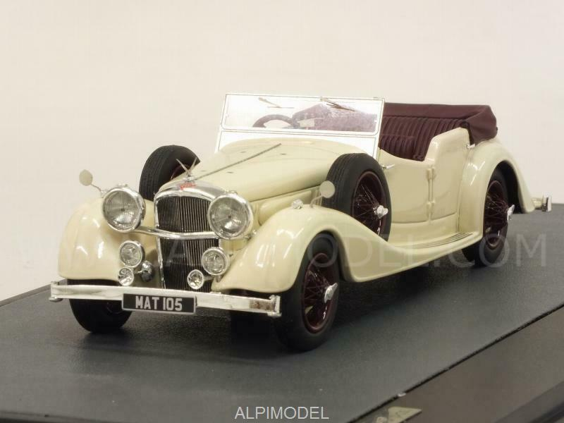 estilo clásico Alvis 4.3 Litre Cross-Ellis Tourer 1938 1938 1938 blanco marrón 1 43 MATRIX MX10105-031  descuento de ventas en línea