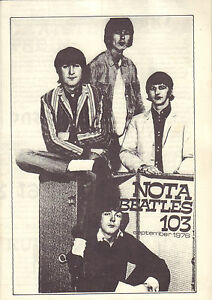 NOTA-BEATLES-1976-nr-103-MAGAZINE-DUTCH-FANCLUB-BEATLES
