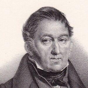 Jacques-Charles-Dupont-de-l-039-Eure-Neubourg-Normandie-Eure-Lithographie-1833