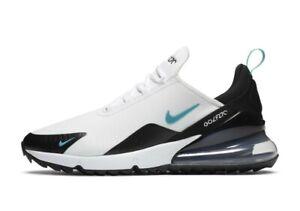 Nike-Air-Max-270-G-Golf-Shoes-Dusty-Cactus-CK6483-100-Men-039-s-Sz-10-Wmns-Sz-11-5