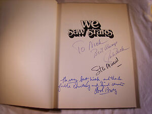 STAN-MUSIAL-JACK-BUCK-BOB-BROEG-SIGNED-AUTOGRAPHED-WE-SAW-STARS-BOOK-T22