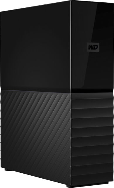 WD - My Book 8TB External USB 3.0 Hard Drive - Black