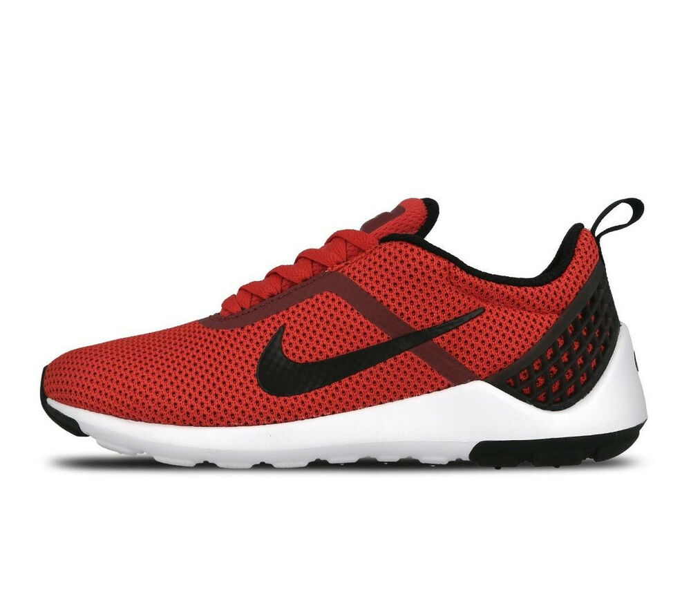 NIKE LUNARESTOA 2 essentiel baskets chaussures gym casual-uk 8.5 (eur 43) rouge-