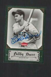 Bobby Doerr Boston Red Sox Signed 2006 GOTG Baseball Card W/Our COA