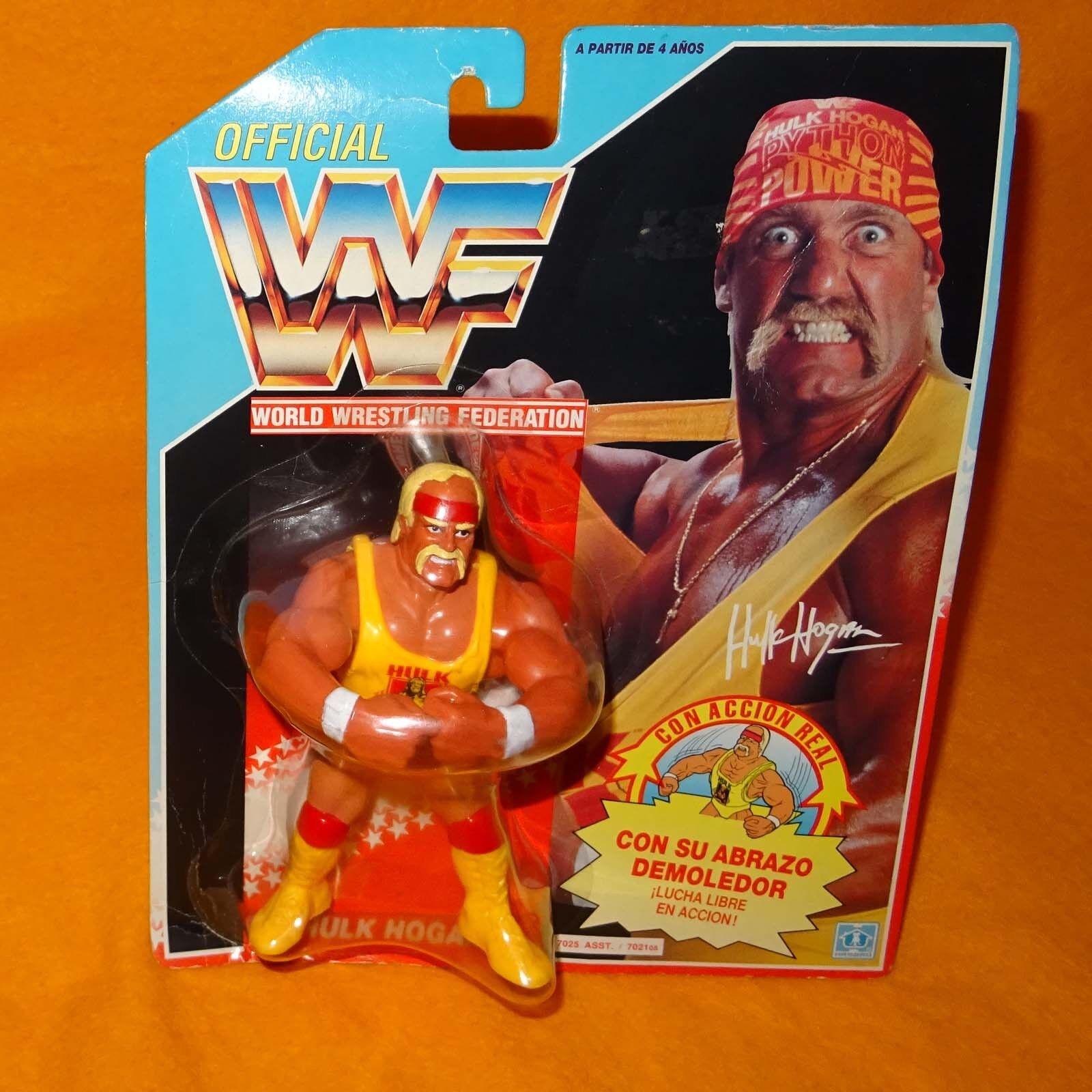 Vintage 2018 Hasbro WWF Wrestling Series 1 Hulkster abrazo Hulk Hogan Moc cardado