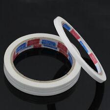 lot d 1 rouleau 10M x5mm Ruban  Adhesif Papier Double Face Autocollant