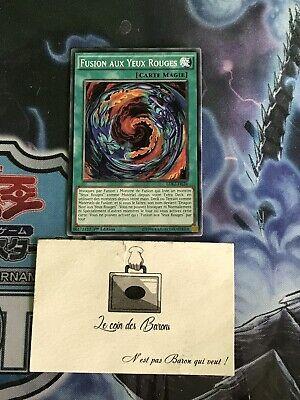 carte Yu-Gi-Oh LDK2-FRJ24 Fusion aux Yeux Rouges