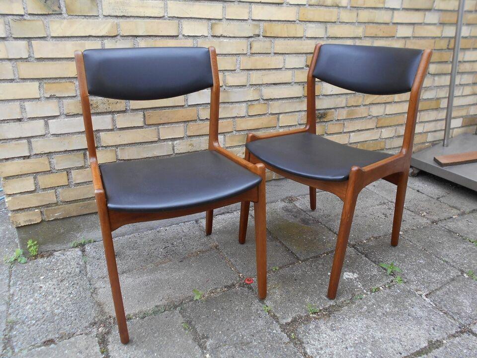 Spisebordsstol, Teaktræ, Sorø Stolefabrik