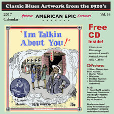 Classic Blues Artwork From the 1920s Calendar 2016 by Various Artists (CD, Oct-2016, Blues Images)