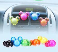 2pcs Auto Air Freshener Cute Cartoon Mickey Mouse Car Perfume Diffuser Fragrance