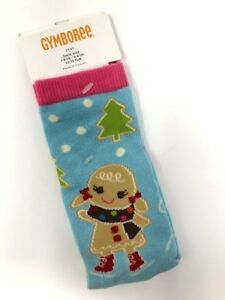 NWT-Gymboree-2T-3T-Gingerbread-Winter-Cheer-Knee-High-Socks