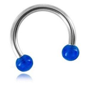 PIERCING-micro-fer-a-cheval-diam-1-2-mm-bille-acrylique-Bleu-fonce-de-3-mm