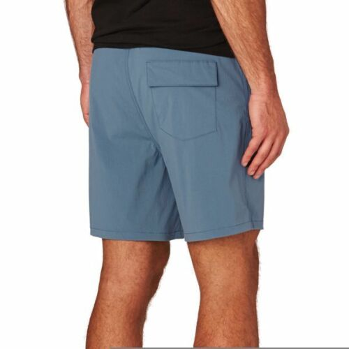 Converse Mens Quick Dry Premium Stretch Bylon Blue Orange/&Black Swimming Shorts