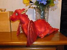 Ty Classic Plush Fossils the Red Dragon 2007