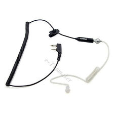 Surveillance Earpiece Mic Earphone for Wouxun KG-UVD1P KG-UV8D PUXING PX888 K