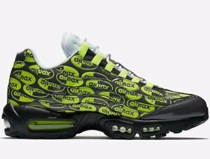 new product 707d8 93d73 Image is loading Nike-Air-Max-95-All-Over-Print-Men-