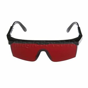 b1b45c6a4a0 Image is loading Dental-Red-Protective-Eye-Goggles-Safety-Glasses-for-