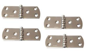 Charnière inox 85x30mm Epaisseur 1-5mm ( Lot de 4 ) inox A2 LqLgJxm8-07140745-366616767