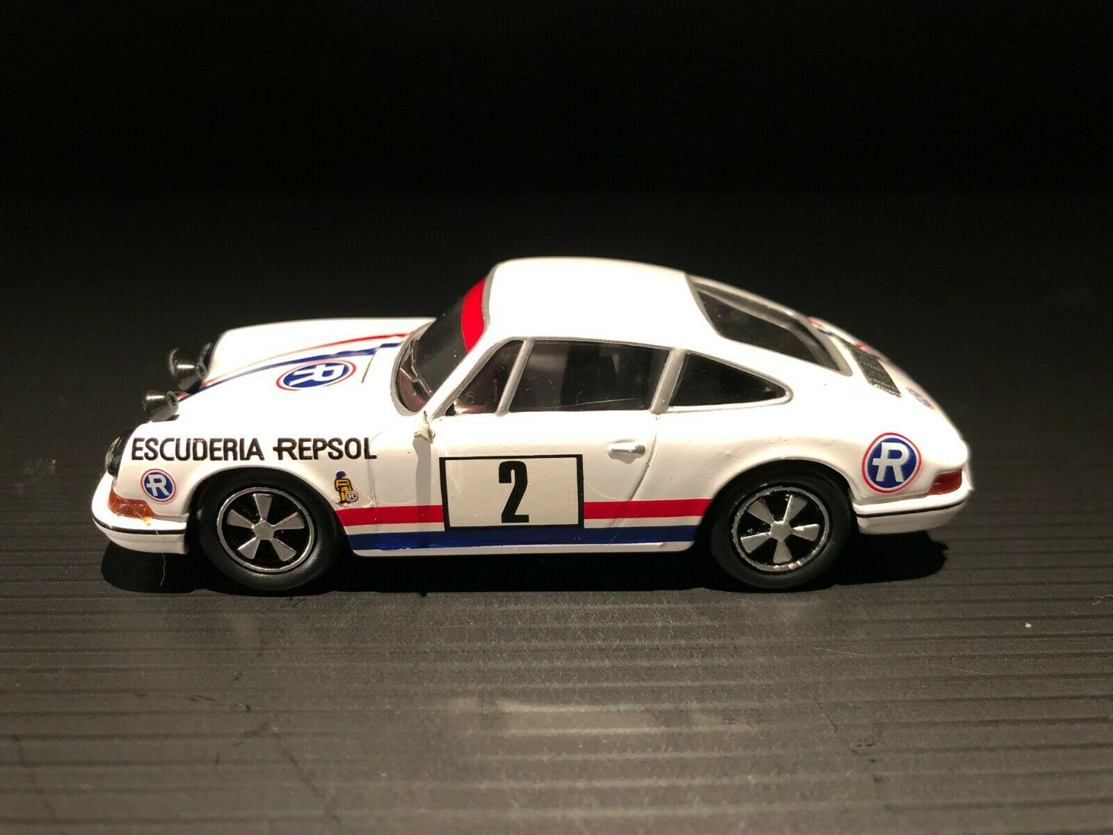 1 43 Porsche 911 S 1972 Team Repsol exclusive Vitesse
