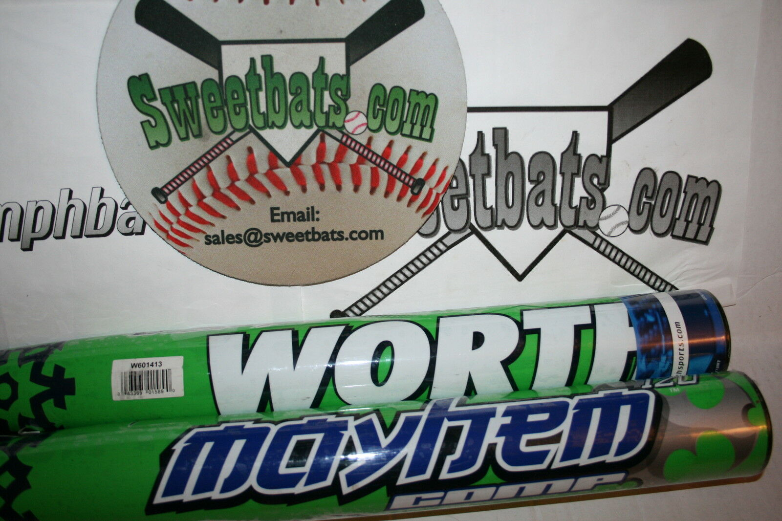 Worth Mayhem Booger M75 SBM75U 120 34 28 Softball 100 Bat New Composite 100 Softball mph HOT 3214e0