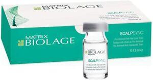 Matrix Biolage ScalpSync Pro-Aminexil Hair Treatment 10x6ml Fiale Anticaduta