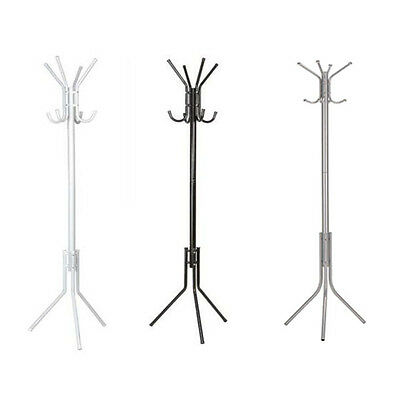 Stylish Coat Hanger Stand 8 Hook Clothes Umbrella Rack Jacket Hat Scarf Stand