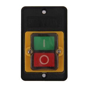 380V-10A-Interruttore-A-Pulsante-ON-OFF-Switch-Per-Macchina-Trapano