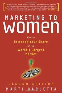 Marketing-to-Women-Understand-Reach-amp-Increase-by-Barletta-Martha-Hardback